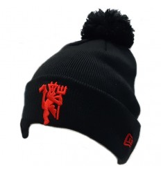 Manchester United FC Ski Hat - Red Devil Pom