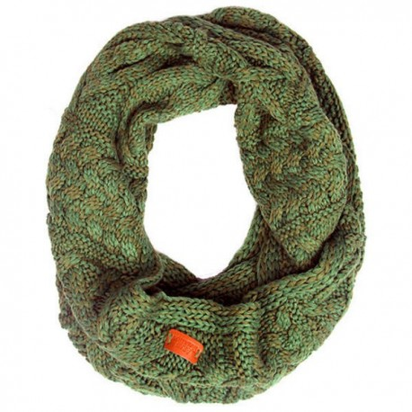 Aran Traditions Cable Knit Snood - Emerald Green