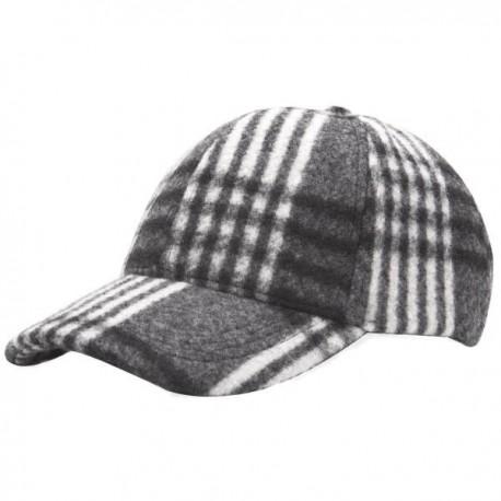 Heritage Traditions Check Baseball Cap - Black/White