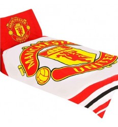 Manchester United FC Single Duvet Set