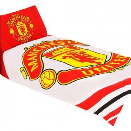 Manchester United FC Single Duvet Set