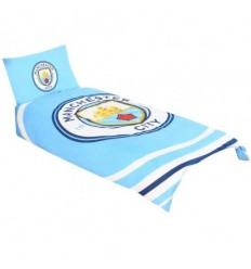 Manchester City FC Single Duvet Set