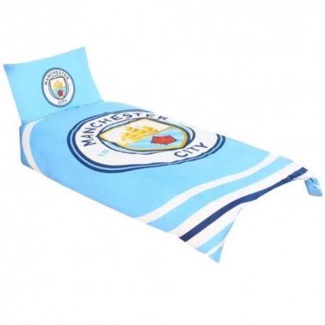 Manchester City FC Single Duvet Set