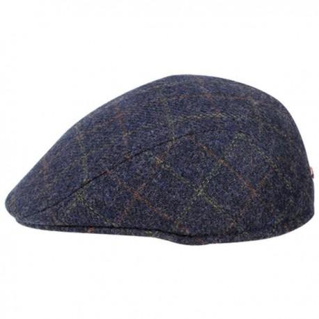 Heritage Traditions Tweed Ear Flap Cap - Blue