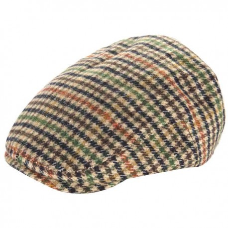 Heritage Traditions Mens Flat Cap - Houndstooth