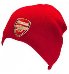 Arsenal FC Crest Ski Hat - Red