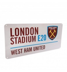 West Ham United FC Street Sign