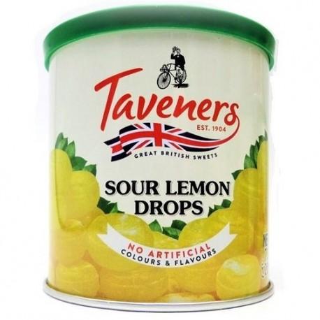 Taveners Sour Lemon Drops - 200g