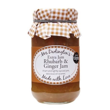 Mrs Darlington's Rhubarb & Ginger Jam - 340g