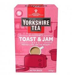 Yorkshire Toast & Jam Brew Tea Bags - 40