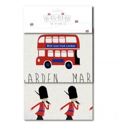 With Love From London Tea Towel Set