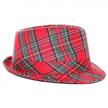 Royal Stewart Trilby Hat