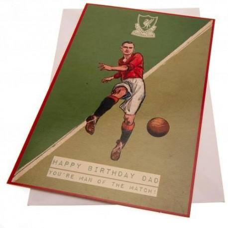 Liverpool FC Crest Birthday Card