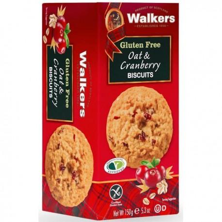 Walkers GF Oat & Cranberry Biscuits 150g