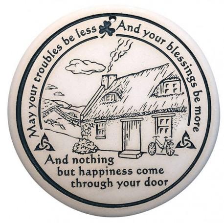 Bread Warmer - Irish Cottage Blessing