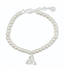 Solvar Trinity Knot Communion Bracelet