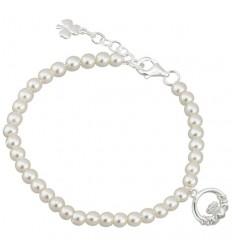 Solvar Claddagh Communion Bracelet