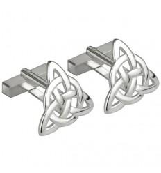 Solvar Trinity Knot Cufflinks