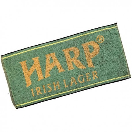 Harp Irish Lager Bar Towel