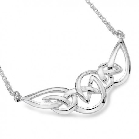 Sea Gems Pointed Celtic Knotwork Pendant