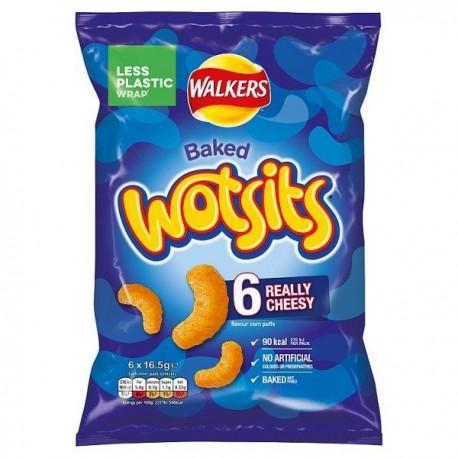 Walkers Cheese Wotsits 6 Pack
