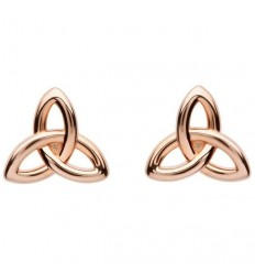 ShanOre Rose Gold Trinity Stud Earrings