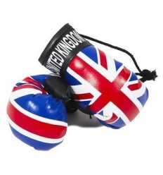 Union Jack Boxing Gloves Dangle