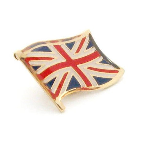 Union Jack Flag Pin Badge