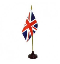 Union Jack Flag: 4x6 Table Top
