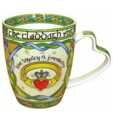 Clara Crafts Claddagh Ring Mug