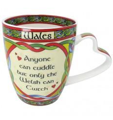 Clara Crafts Wales Cwtch Mug