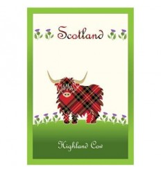Clara Crafts Highland Cow Tea Towel