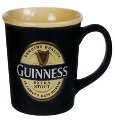 Guinness Label Embossed Mug