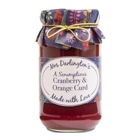 Mrs Darlington's Cranberry Orange Curd 320g