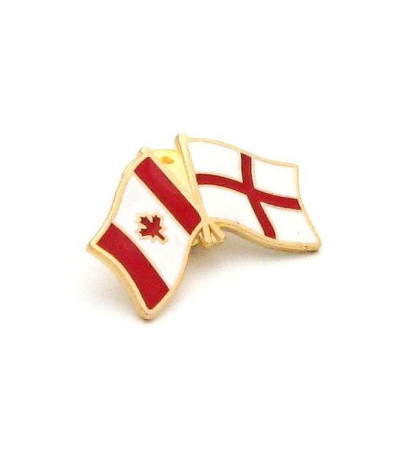 England Canada Friendship Pin Badge