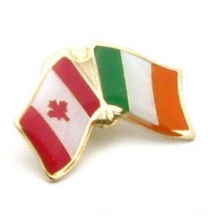 Ireland-Canada Friendship Pin Badge