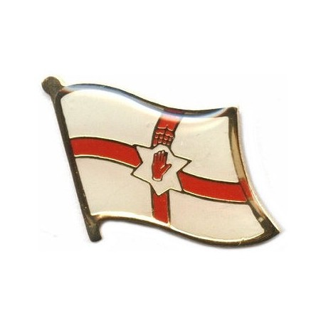 Northern Ireland Flag Pin Badge