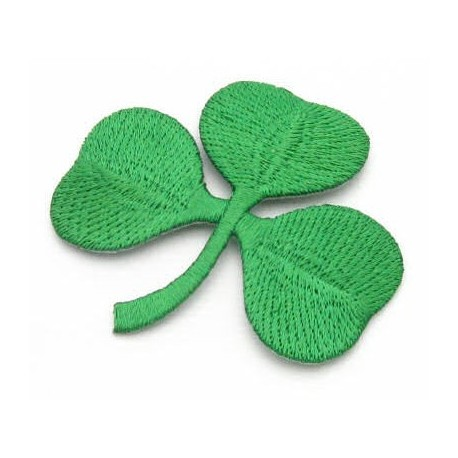 Shamrock Iron On Patch