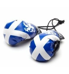 Scotland Boxing Gloves Dangle