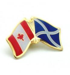 Scotland Cross-Canada Friendship Pin Badge