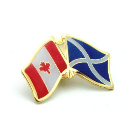 Scotland Cross-Canada Friendship Pin Badge
