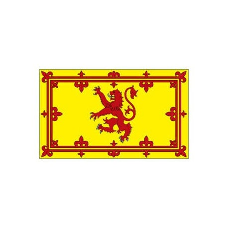 Scotland Lion Rampant Flag: 36x60