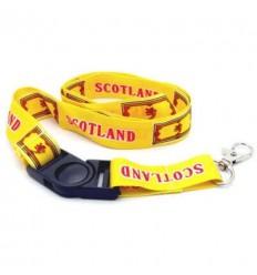 Scotland Lion Rampant Lanyard
