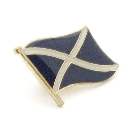 Scotland St Andrews Cross Flag Pin Badge