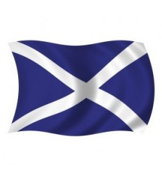Scotland St Andrews Cross Flag - 36x60