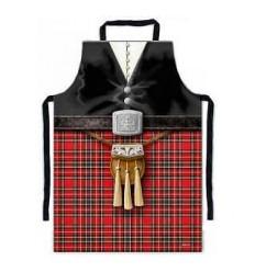 Scottish Piper PVC Apron