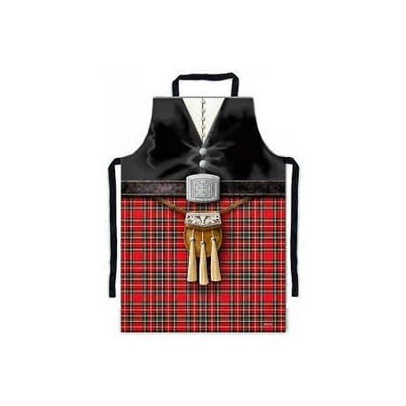 Scottish Piper PVC Apron