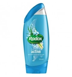Radox Active Shower & Shampoo - 250ml