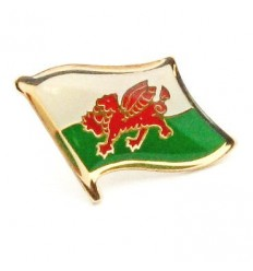 Wales Flag Pin Badge