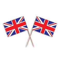 Union Jack Flag Toothpicks